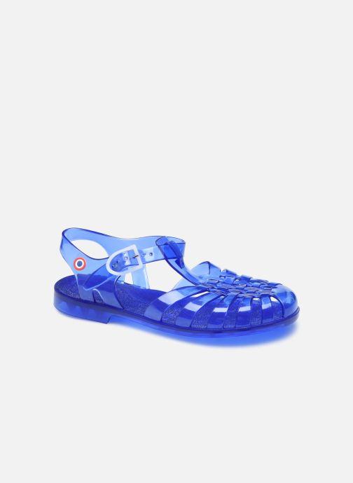 Sandales et nu-pieds Méduse Sunmif - Made in France - Bleu vue détail/paire