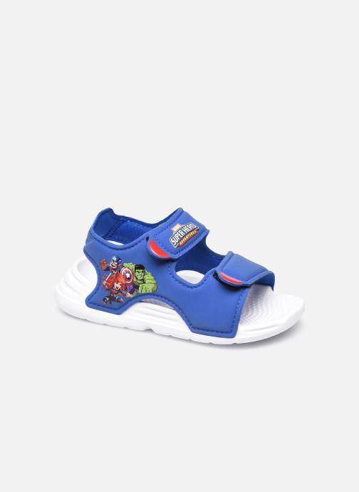 Sandales et nu-pieds adidas performance Swim Sandal I Bleu vue détail/paire
