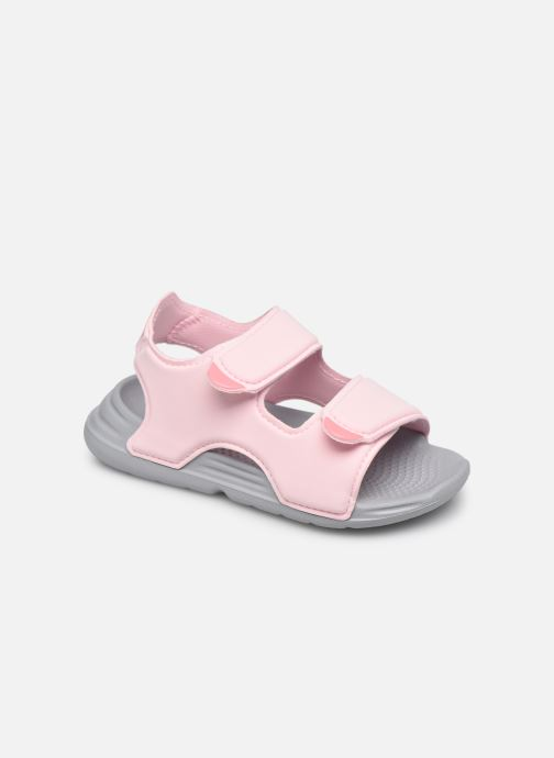 Sandalen adidas performance Swim Sandal I Roze detail