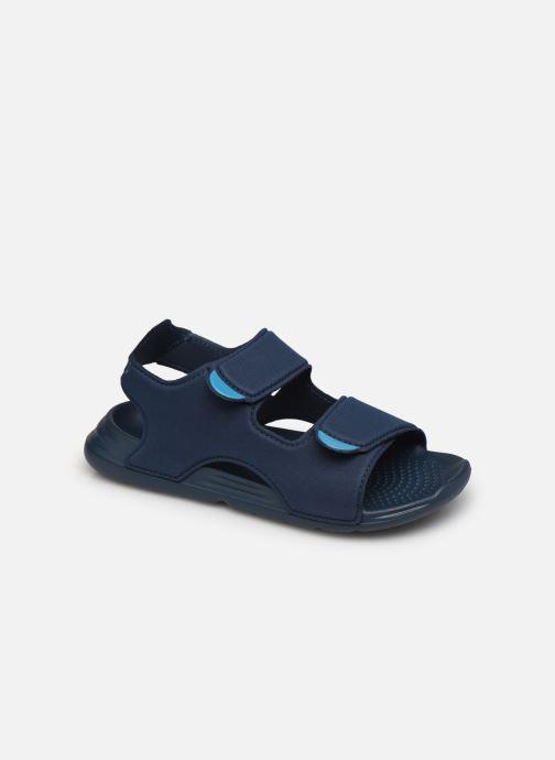 Sandales et nu-pieds adidas performance Swim Sandal C Bleu vue détail/paire