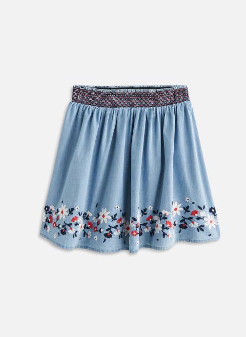 Vêtements Vertbaudet Jupe Smockee Bleu vue détail/paire