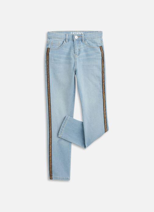 Ropa Vertbaudet Denim Skinny Bande Cote Christ Azul vista de detalle / par