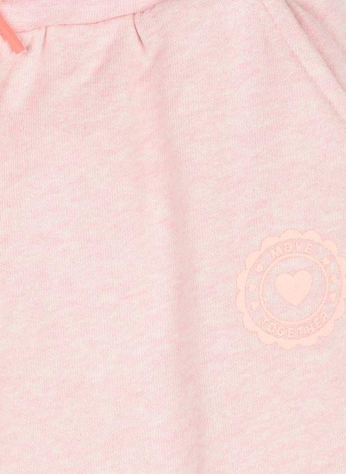 Vêtements Vertbaudet Jogging Sport Basic Rose vue face