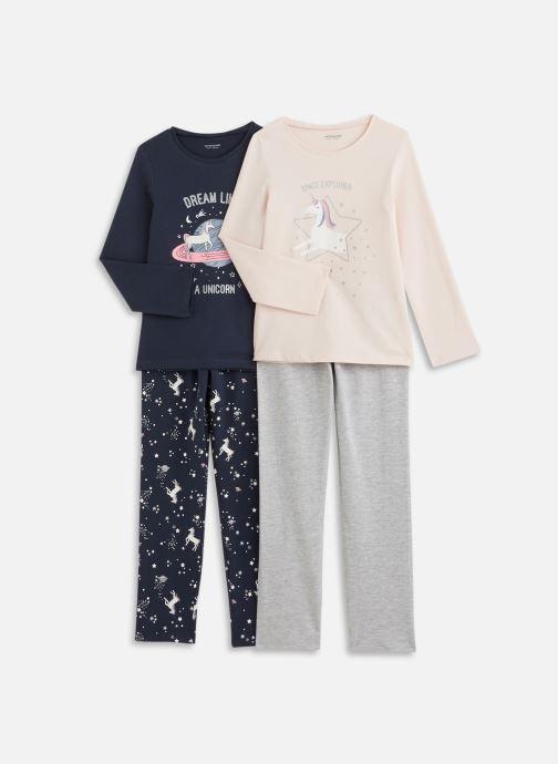 Kleding Accessoires Lot De 2 Pyjama Jlml Licorne