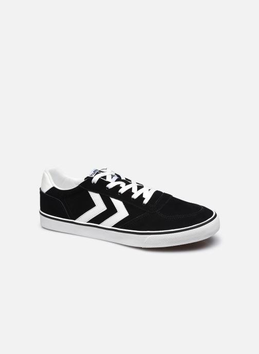 Sneaker Hummel Stadil Low Suede 3.0 schwarz detaillierte ansicht/modell