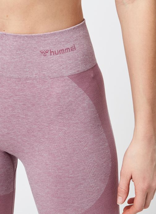 Vêtements Hummel Hummel Rosa Seamless HW 7/8 Tights Rose vue face