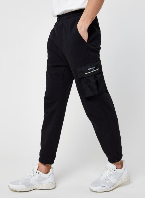 Kleding Diadora Pant Urbanity - Organic Textile - Zwart detail