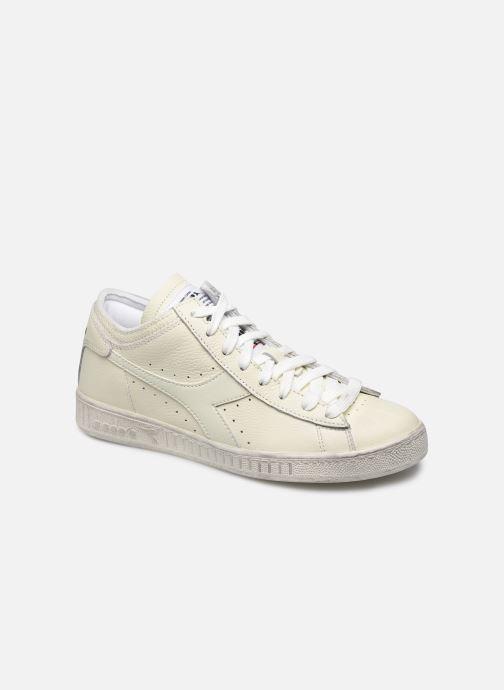Sneakers Diadora Game L Waxed Row Cut W Wit detail