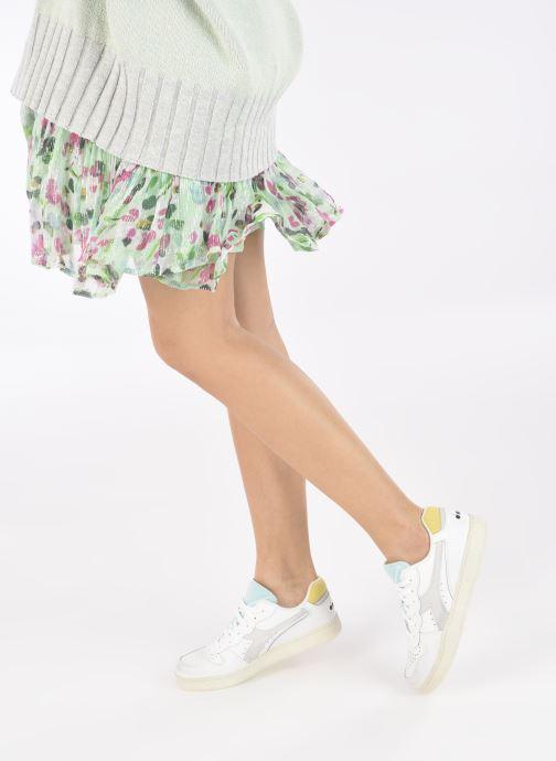 Sneakers Diadora Mi Basket Low Icona Wn Bianco immagine dal basso
