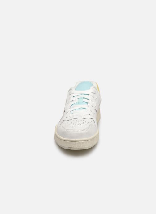 Baskets Diadora Mi Basket Low Icona Wn Blanc vue portées chaussures