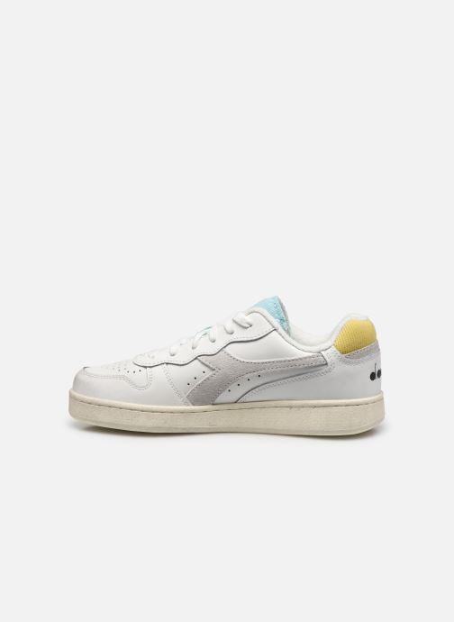 Sneakers Diadora Mi Basket Low Icona Wn Bianco immagine frontale