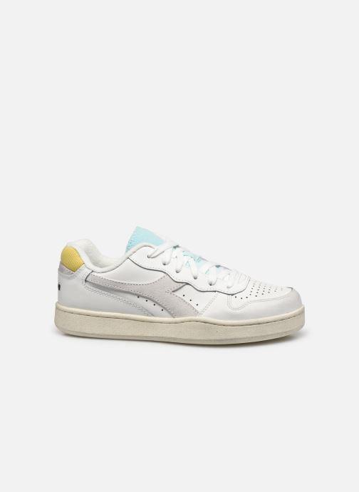 Sneakers Diadora Mi Basket Low Icona Wn Bianco immagine posteriore