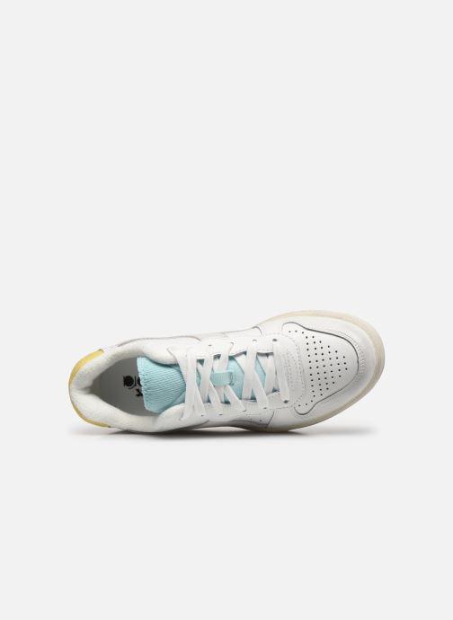 Sneakers Diadora Mi Basket Low Icona Wn Bianco immagine sinistra