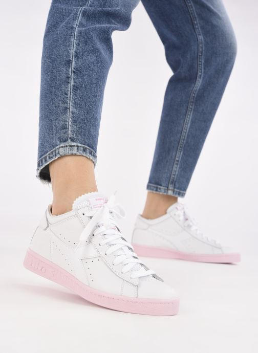 Sneakers Diadora Game L Row Cut Sole Block Wn Wit onder