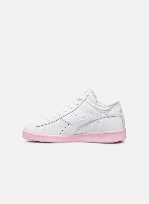 Sneakers Diadora Game L Row Cut Sole Block Wn Wit voorkant