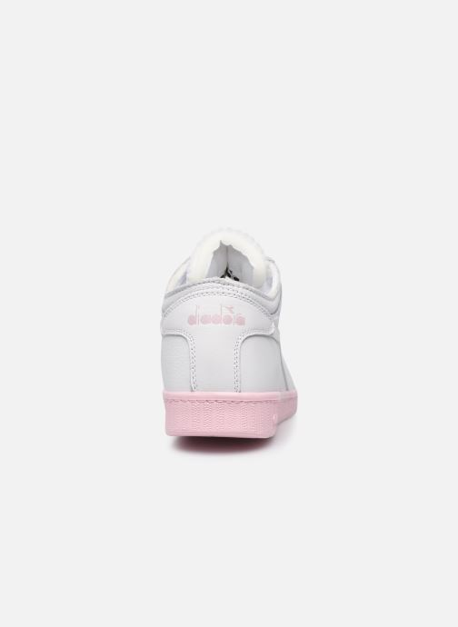 Sneakers Diadora Game L Row Cut Sole Block Wn Wit rechts