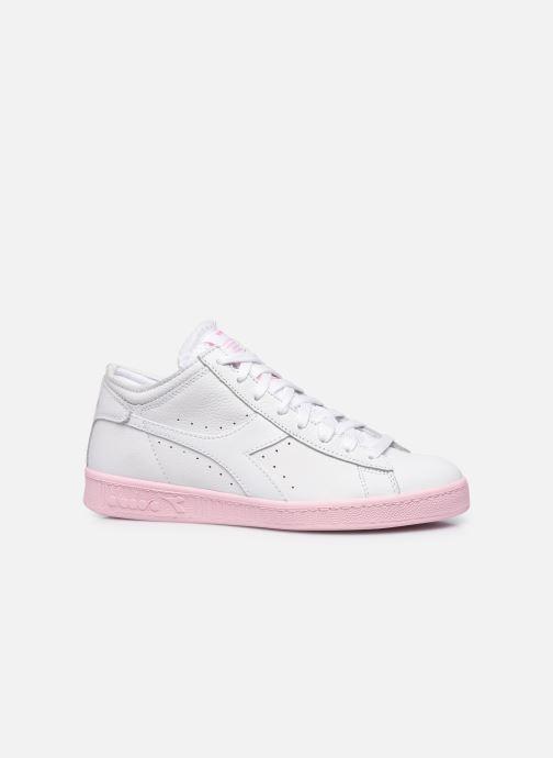 Sneakers Diadora Game L Row Cut Sole Block Wn Wit achterkant