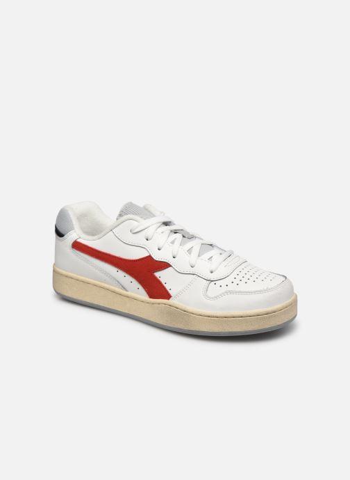 Sneakers Diadora Mi Basket Low Icona Wit detail