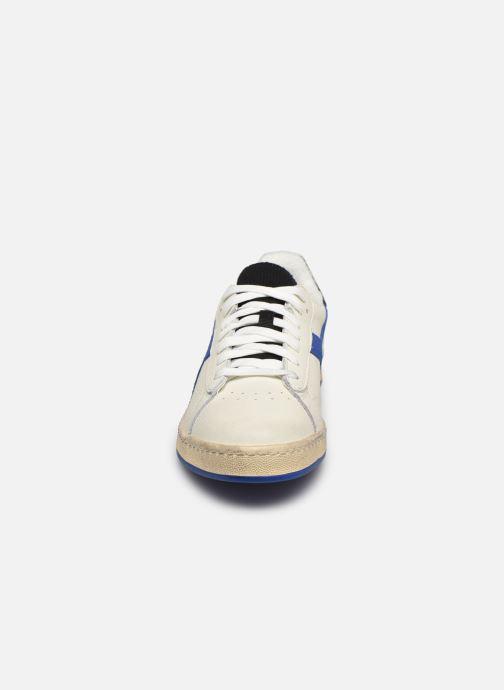 Baskets Diadora Game L Low Icona Blanc vue portées chaussures