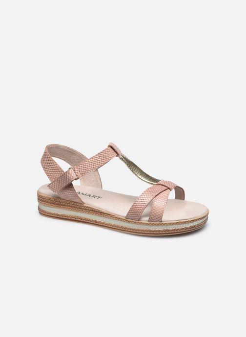 Sandalen Damart Mika rosa detaillierte ansicht/modell