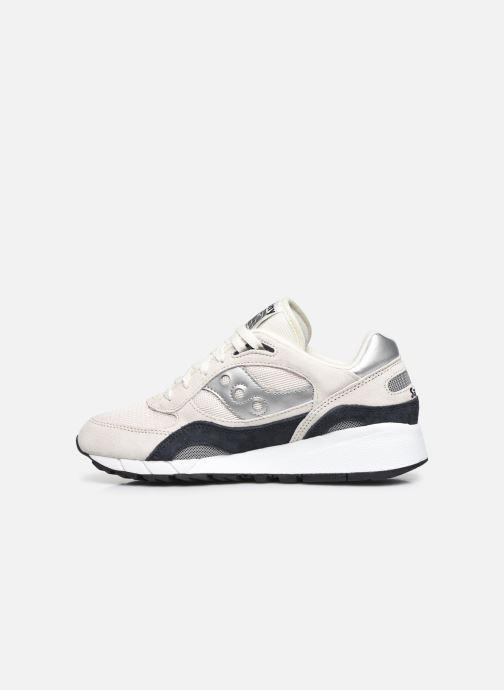 Sneakers Saucony Shadow 6000 M Wit voorkant