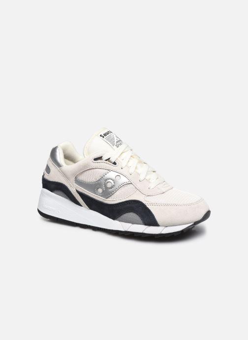 Sneaker Saucony Shadow 6000 M weiß detaillierte ansicht/modell