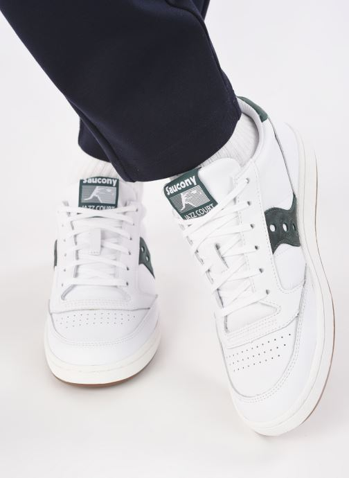 Sneakers Saucony Jazz Court M Bianco immagine dal basso