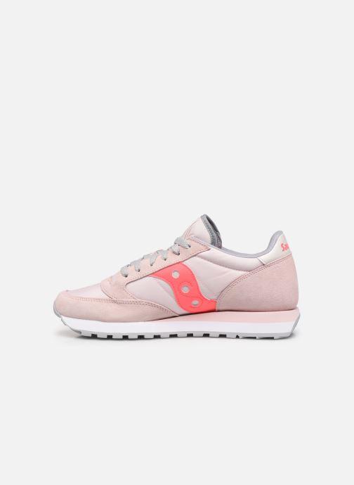 Sneakers Saucony Jazz Original W Roze voorkant