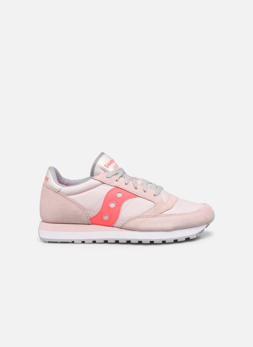 Sneakers Saucony Jazz Original W Roze achterkant