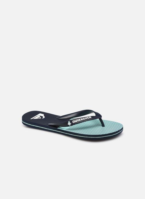 Slippers Quiksilver Molokai Tijuana Blauw detail