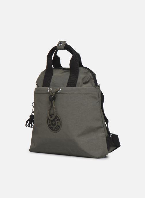 Handtaschen Kipling GOYO MINI grün schuhe getragen