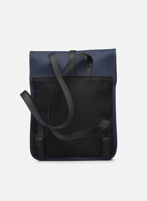 Rucksäcke Rains  Backpack Micro blau ansicht von vorne