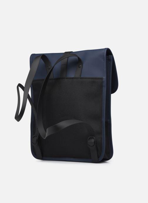 Rucksäcke Rains  Backpack Micro blau ansicht von rechts