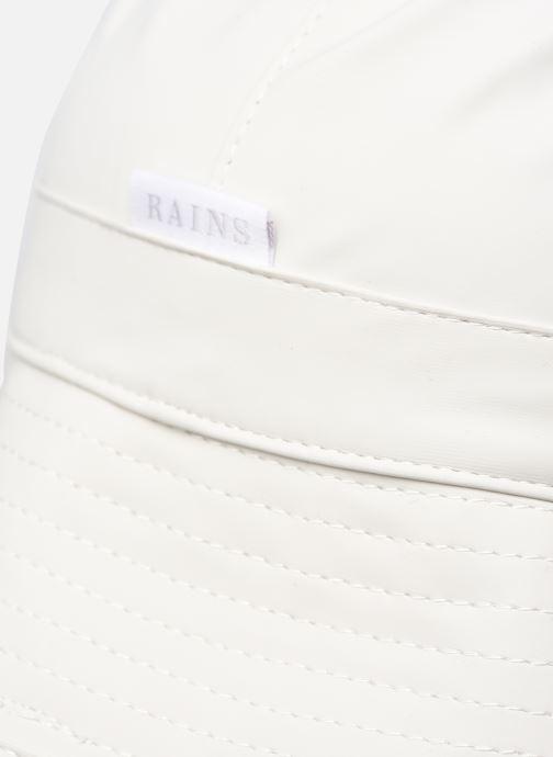Cappello Rains  Bucket Hat Bianco immagine frontale