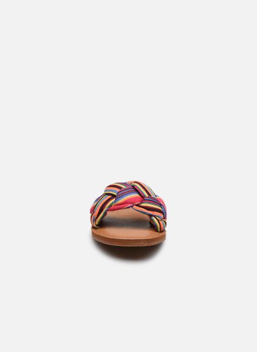 Clogs & Pantoletten Roxy Mara mehrfarbig schuhe getragen