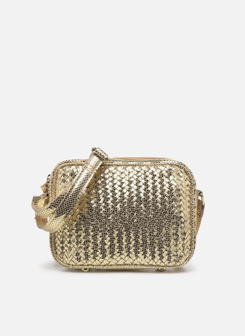 Handtaschen Pieces GAZEL SUEDE CROSS BODY gold/bronze detaillierte ansicht/modell