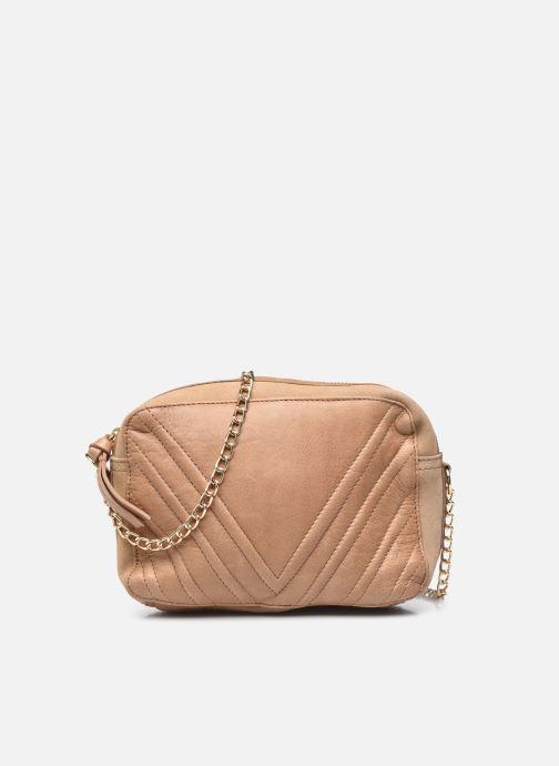 Handtaschen Pieces GEA LEATHER CROSS BODY braun detaillierte ansicht/modell
