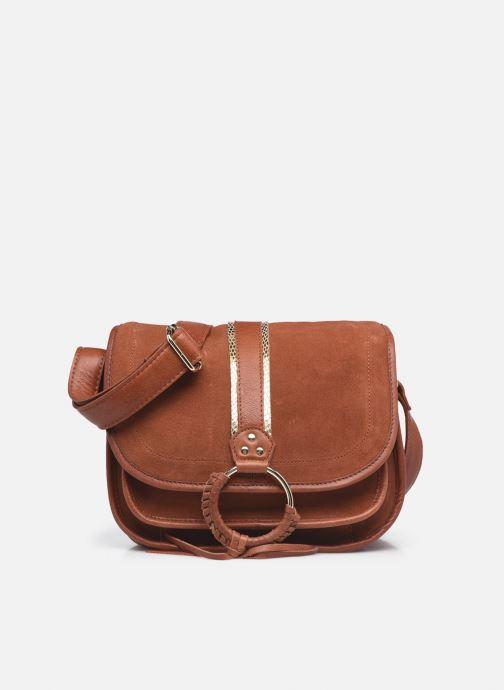 Handtaschen Pieces GRY LEATHER CROSS BODY rot detaillierte ansicht/modell