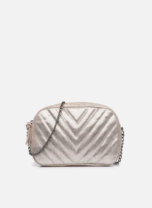 Handtaschen Pieces GUI SUEDE CROSS BODY grau detaillierte ansicht/modell