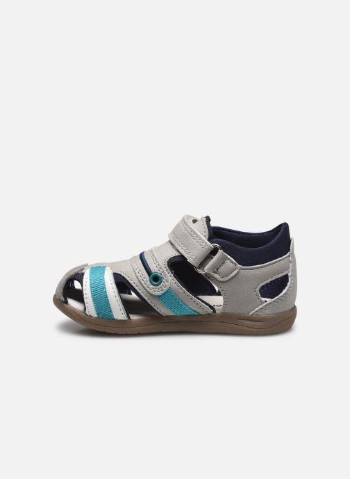 Sandalen Vertbaudet BG - Sandale bout couvert grau ansicht von vorne