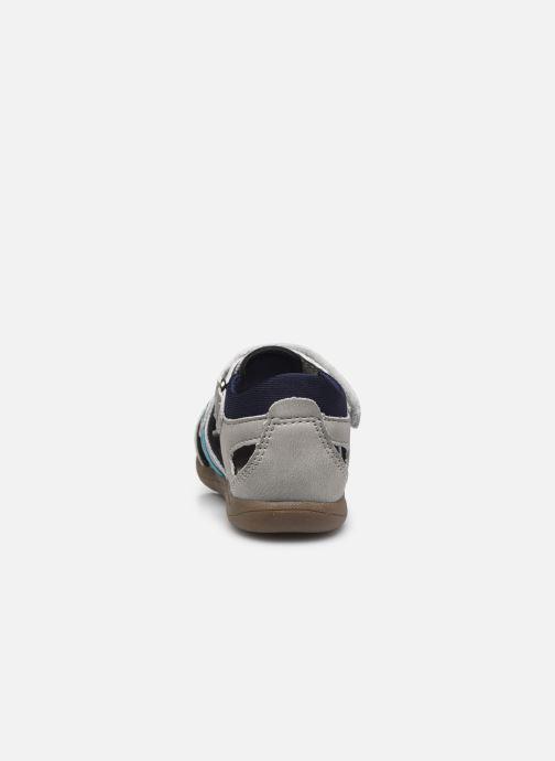 Sandalen Vertbaudet BG - Sandale bout couvert grau ansicht von rechts