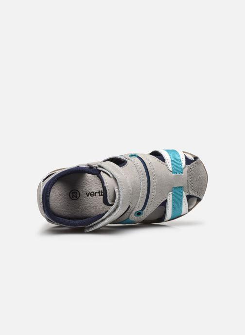 Sandalen Vertbaudet BG - Sandale bout couvert grau ansicht von links