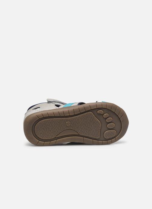 Sandalen Vertbaudet BG - Sandale bout couvert grau ansicht von oben