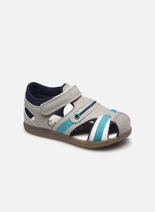 Sandalen Vertbaudet BG - Sandale bout couvert grau detaillierte ansicht/modell