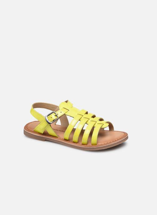 Sandalen Vertbaudet KF - Spartiate basse gelb detaillierte ansicht/modell