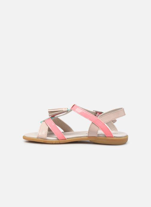 Sandalen Vertbaudet KF - Sandales synthé rosa ansicht von vorne