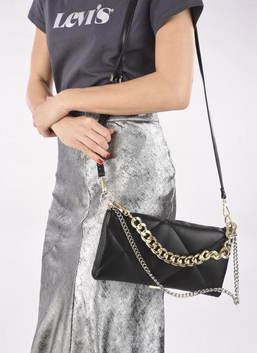 Handtaschen Steve Madden BCOBBLE schwarz ansicht von unten / tasche getragen