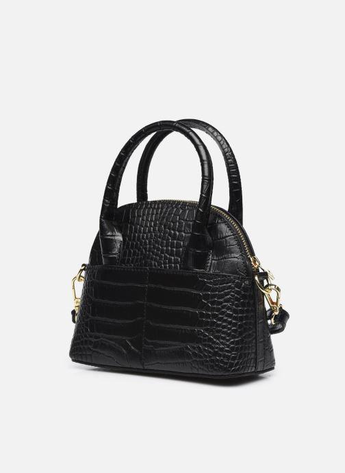 Handtaschen Georgia Rose Mélina schwarz schuhe getragen