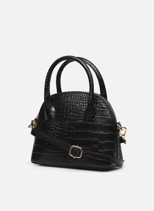 Handtaschen Georgia Rose Mélina schwarz ansicht von rechts