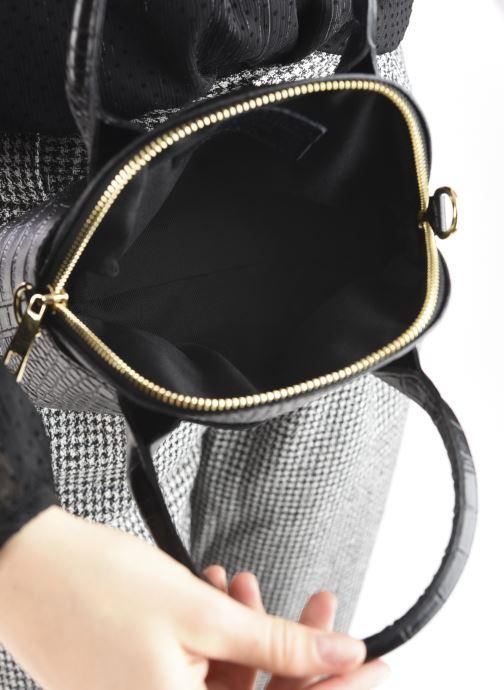 Handtaschen Georgia Rose Mélina schwarz ansicht von hinten